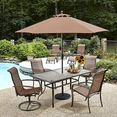 Garden Oasis Harrison 7 Piece Dining Set Serenity Care Health