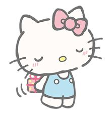 Together with her good friend Tiny Chum, Hello Kitty appears even more kind and sisterly in this adorable sticker series.