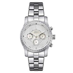 JBW Women's J6327A Vixen 0.42 ctw Stainless Steel Diamond Watch