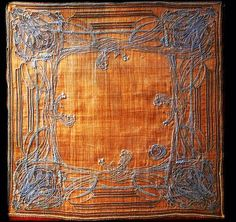 Historically Modern: Quilts, Textiles & Design: Modern Print Monday: Hector Guimard