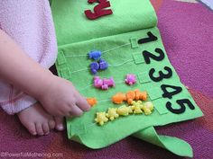 13th of 13 tutorials on how to make a no sew quiet book! Great for Toddlers! From PowerfulMothering.com