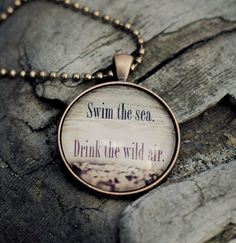 Swim the Sea Drink the Wild Air Ohope Beach, NZ by traceytomtenephoto, $32.00