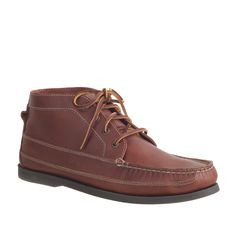 Men's Sperry Top-Sider® for J.Crew leather chukka boots : casual boots & chukkas | J.Crew