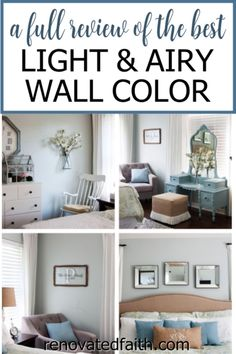 WHAT YOU SHOULD KNOW before painting your bedroom, bathroom or living room this vibrant paint color. Here's a full review along with how to decorate around this dynamic color!So what color is Sherwin Williams Silver Strand? A Joanna Gaines top pick, this gray has gorgeous blue and green undertones so it's important to know how to decorate & what colors go with Sherwin Williams Silver Strand. Included are SWSS paint strip comparisons (vs. Sea Salt). Sherwin Williams Silver Strand, Bedroom Decor On A Budget, Decorating On A Budget, Bedroom Ideas, Decorating Websites, Grey Bedroom Paint, Master Bedroom, Bedroom Colors, Joanna Gaines