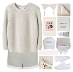 """""""did i miss out on you?"""" by d-isappear ❤ liked on Polyvore featuring Topshop, La Garçonne Moderne, Hoff By Hoff, adidas Originals, JCPenney Home, Byredo, Korres, Urban Outfitters and melsunicorns"""