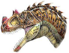 Really Weird Dinosaurs::Ceratosaurus nasicornis