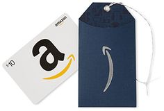 Amazon.com $10 Gift Card in an Amazon Gift Tag (Classic White Card Design) *** Check out this great image @