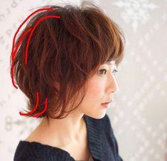 今回オーダーがあった髪型は、外ハネを織り交ぜたふんわりシルエットが可愛いショートスタイル☆