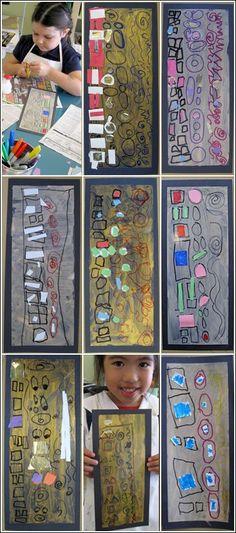 Klimt + LB Parks & Rec Classes Our Little Picasso's Class (Age is now available through Long Beach Parks & Recreation beginning TH, June … Gustav Klimt, Klimt Art, Art History Lessons, Art Lessons For Kids, Kindergarten Art Lessons, Art Lessons Elementary, Parks, Ecole Art, Art Curriculum