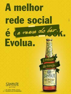 Anúncio Santa Fé - Revista RG