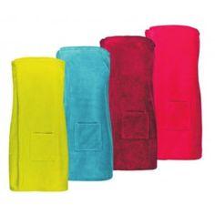 Farbenfroher Sauna-Kilt für Damen mit saugstarker Innenseite aus reiner Baumwolle und schnell trocknender Außenseite aus Mikrofaser. Sauna, Cotton, Women's