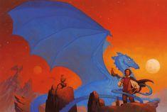 Anne McCaffrey's Dragonriders of Pern series -- even if you're not a Sci/Fi fan...