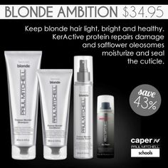 Blonde Ambition- Contact your local Paul Mitchell School and help a Future Professional with their education by attending a once in a lifetime event! #paulmitchelledu #pmts #paulmitchell #hair #beauty #cosmetology