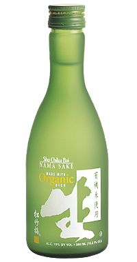SHO CHIKU BAI Organic Nama Sake - Use this for my Panko Crusted Sake Tamari Marinated Salmon Dish. It adds a nice flavor to the Salmon.
