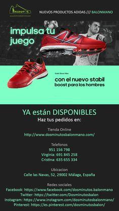 zapatillas   stabil   boost NUEVOS PRODUCTOS ADIDAS     BALONMANO YA  están DISPONIBLES 0e516073bb9cb