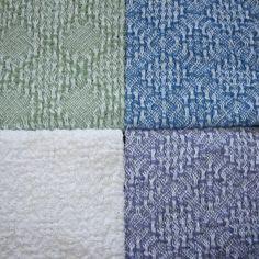 4 Handwoven Dish Towels by warpedandwonderful on Etsy, $54.00