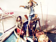 MASSIMO DUTTI Kids Fashion campaign S/S 2011 Photographer: Frank Malthiery @Magna  Art direction: Magna  Production: Magna