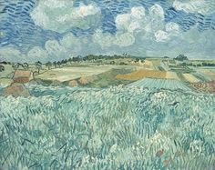 van gogh | plain near auvers 1890