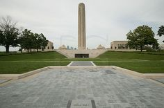 The Liberty Memorial, located on the hill near Union Station, is the nation's only official World War I Museum. Ap World History, Kansas City Missouri, Union Station, World War One, Public Spaces, Wwi, Museums, Liberty, Parks