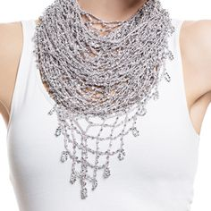 Fancy Multi-Purpose Jewel Scarf #TraciLynnJewelry