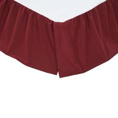 Ninepatch Star Burgundy Red Bed Skirt by VHC Brands. Bed Skirt is available in Twin, Queen, and King sizes. Shop EverythingPrimitives for Primitive, Country, and Rustic decor for your home. Burgundy Bedding, Red Bedding, Luxury Bedding, Bedding Sets, King Beds, Queen Beds, Country Bedding, Country Bedrooms, Apartment Makeover