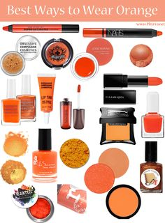 Best Cruelty Free Orange Beauty Products