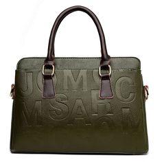 36.90$  Buy now - http://ali55l.shopchina.info/go.php?t=32803504682 - Large Size Women Tote Bags Handbags Retro Split Leather Shoulder Bags Luxury Brand Ladies Bags Letter Decoration Purse Women Sac  #aliexpress