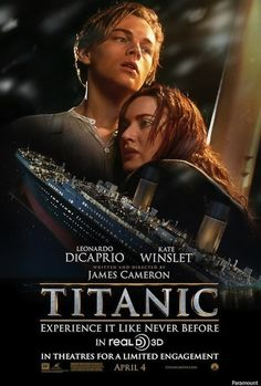 İzlemeye değer bir 3D deneyimi..  It worth to watch it, believe me. Great 3D experience with this classic movie. http://www.aliermanakyuz.com/2012/04/titanik.html