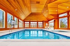 23 Exquisite Indoor Swimming Pool Inspirations (20)