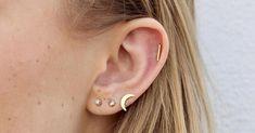 Est-ce que t'es calée sur les sillons chelous de tes oreilles ? Tragus, Septum, Piercing Orbital, Piercing Tattoo, Piercings, Lobe, Guide, Stud Earrings, Tattoos
