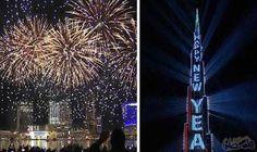برج خليفة يشهد تجمع الآلاف من سكان دبي للاحتفال بالعام الجديد: قضى الآلاف من سكان دبي الساعات الأخيرة من عام 2017 والأولى من عام 2018، أسفل…
