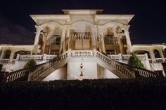 Landscape, residential & commercial lighting for over 20 years Facade Lighting, Commercial Lighting, Light Architecture, Curb Appeal, Outdoor Lighting, Nashville, Perspective, Mansions, Landscape