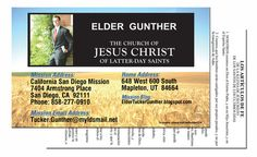 MISSIONARY PASS ALONG CARD