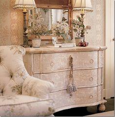 Gorgeous painted chest (1) From: Cote De Texas, please visit