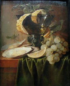 Jan Davidsz. de Heem (or: Johannes de Heem), 1640 Still life with oysters