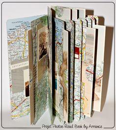 mini books con mapas
