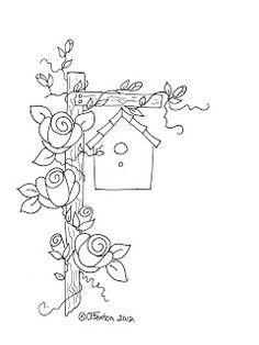 Rose+Birdhouse...Anne's+Digital+Art.jpg (240×320)
