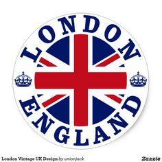 Shop London England British Flag Roundel Ceramic Ornament created by unionjack. Vintage Diy, Vintage Style, Comic Cat, Travel Stamp, Etiquette Vintage, Vintage London, Tampons, London Calling, National Flag