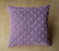 Calico Patten 14 Crochet Square Pillow READY TO SHIP – Knitting patterns, knitting designs, knitting for beginners. Crochet Mittens Free Pattern, Crochet Pillow Pattern, Crochet Basket Pattern, Baby Knitting Patterns, Knitting Designs, Crochet Patterns, Blanket Crochet, Crochet Pillow Cases, Crochet Cushion Cover