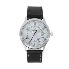 Swiza Men's Siriuz Leather Swiss GMT Watch, B