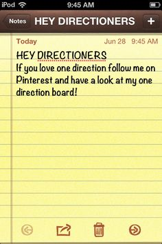 Sigan mi tablero de One Direction.