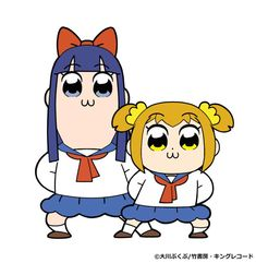 "Crunchyroll - Anime Visual Offers A Spectacular New Look At ""Pop Team Epic"" Adaptation"