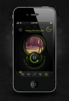Mixland IPhone App by Fatih Kececi, via #Behance #ui