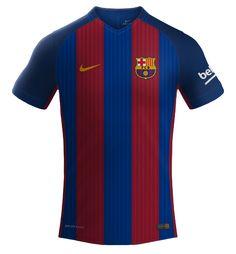 BARCELONA NIKE 2016/2017 | LK Camisas
