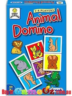 Animal+Domino+is+a+popular+game+that+helps+develop+the+observation+skills+of+children+through+identification+and+matching+of+different+animals.  Players:+1-4  Ages:+3+