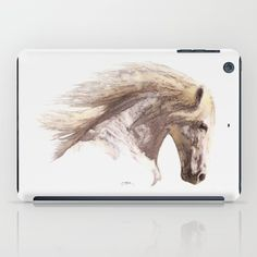 Protect your iPad with an impact resistant hard shell case featuring an extremely slim profile. https://society6.com/product/silverwind-a-pegasus-stallion-study-p8a_ipad-case?curator=skyeryanevans