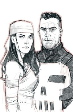 Elektra & Punisher •Phil Noto