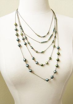 Recycled Material Jewelry: DIY Necklace Ideas | DIY Recycled