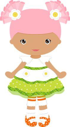 lal Lalaloopsy, Felt Dolls, Paper Dolls, Girls Clips, Cute Clipart, Girl Clipart, Digi Stamps, Cute Images, Cute Dolls