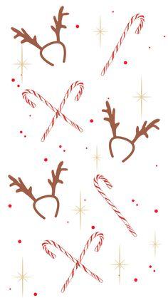 Christmas New Year Girl iPhone Home Wallpaper @PanPins